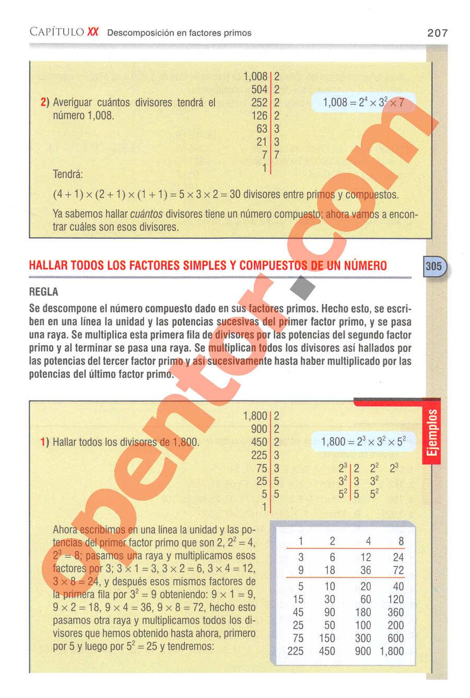 Aritmética de Baldor - Página 207