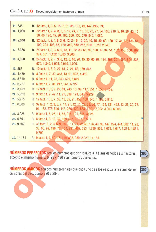 Aritmética de Baldor - Página 209
