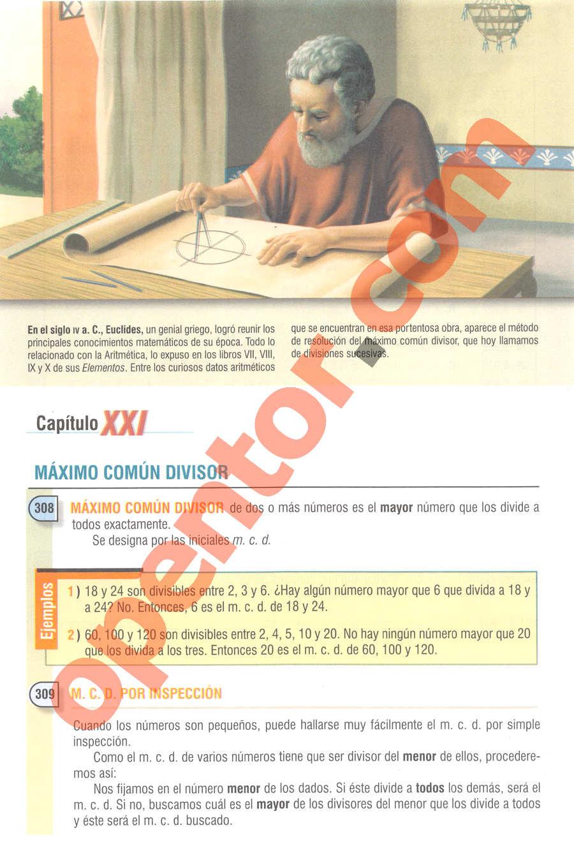 Aritmética de Baldor - Página 210