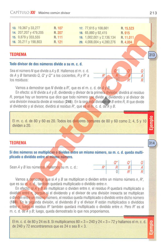 Aritmética de Baldor - Página 213