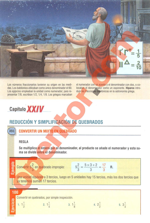 Aritmética de Baldor - Página 240