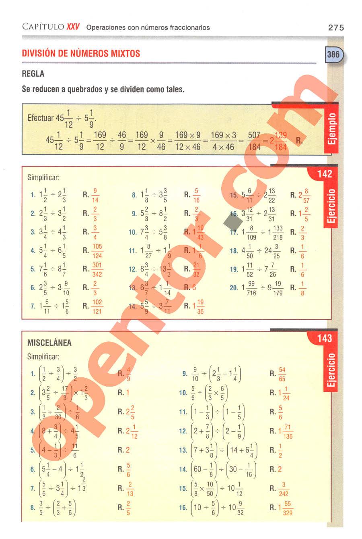 Aritmética de Baldor - Página 275