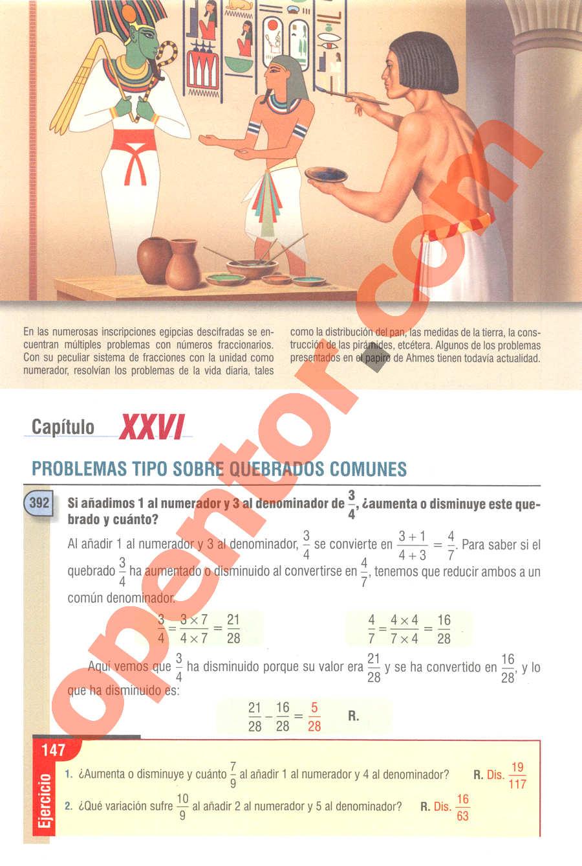 Aritmética de Baldor - Página 282