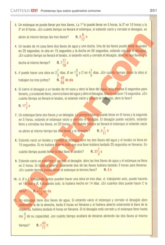 Aritmética de Baldor - Página 301