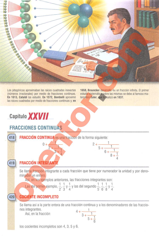 Aritmética de Baldor - Página 306