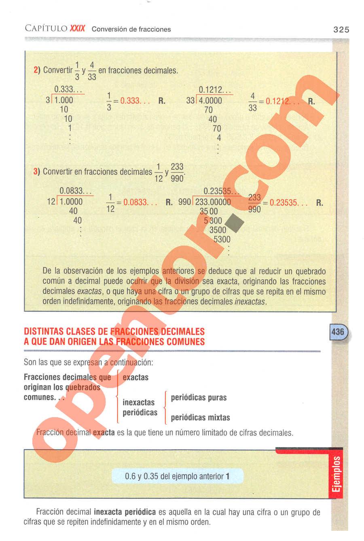 Aritmética de Baldor - Página 325