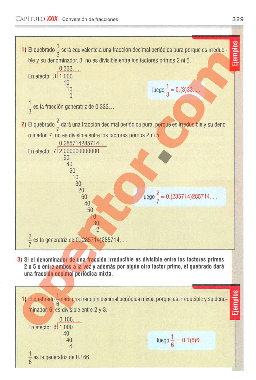 Aritmética de Baldor - Página 329