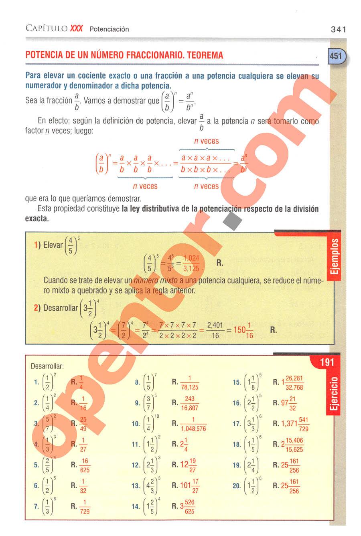 Aritmética de Baldor - Página 341