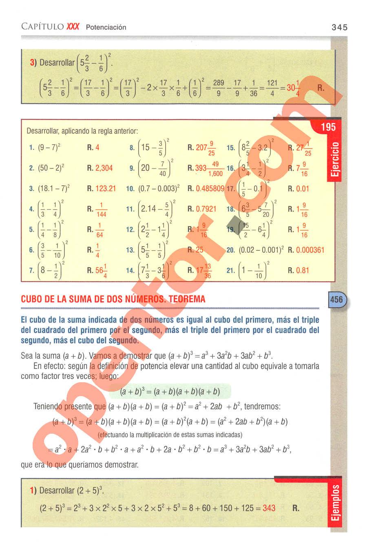 Aritmética de Baldor - Página 345