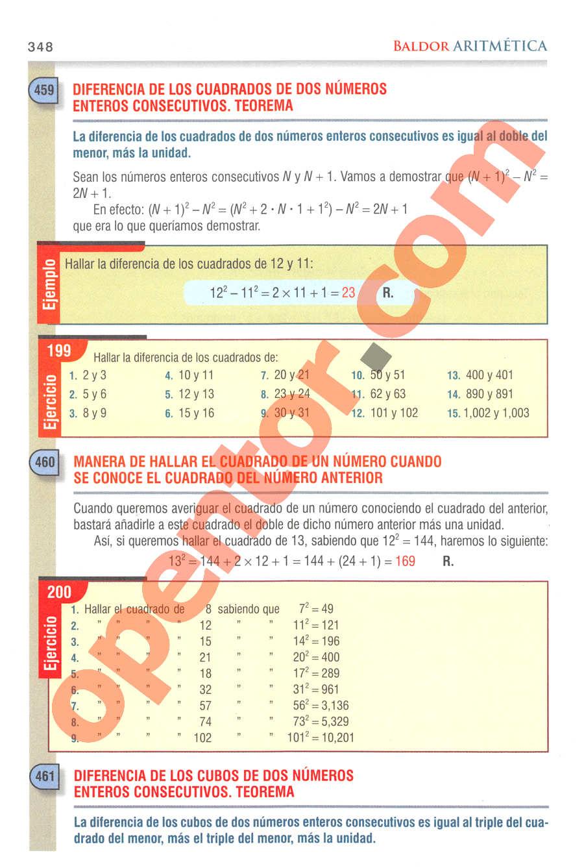 Aritmética de Baldor - Página 348