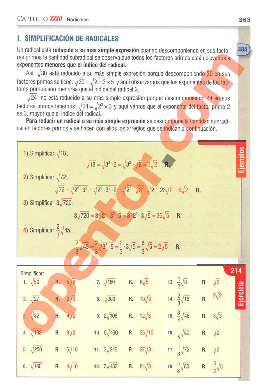 Aritmética de Baldor - Página 363