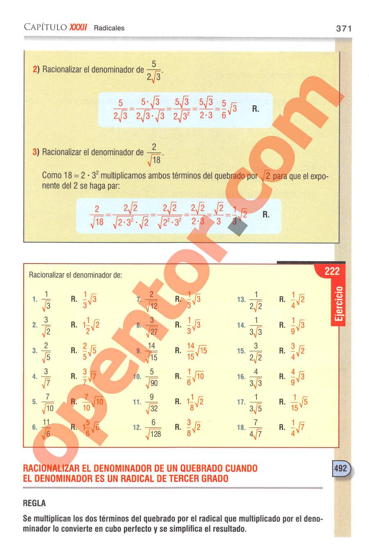 Aritmética de Baldor - Página 371
