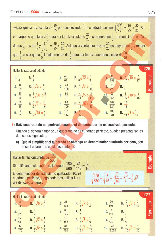 Aritmética de Baldor - Página 379