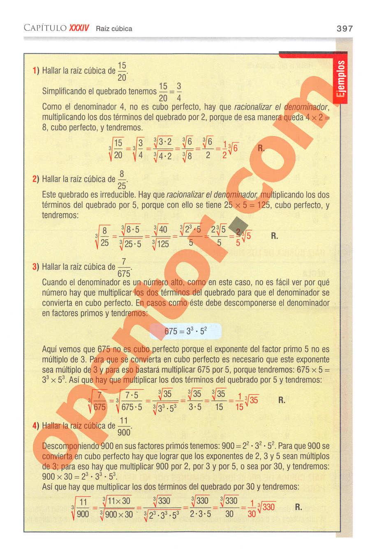 Aritmética de Baldor - Página 397