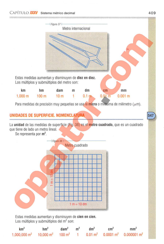 Aritmética de Baldor - Página 409