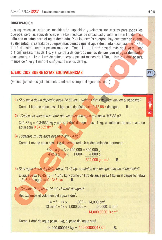 Aritmética de Baldor - Página 429