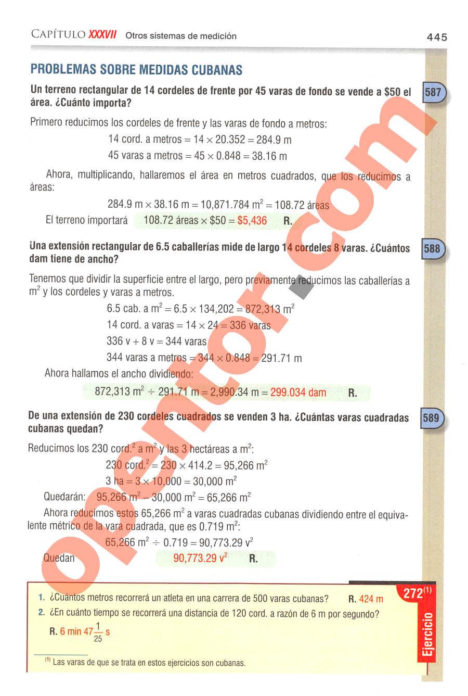 Aritmética de Baldor - Página 445