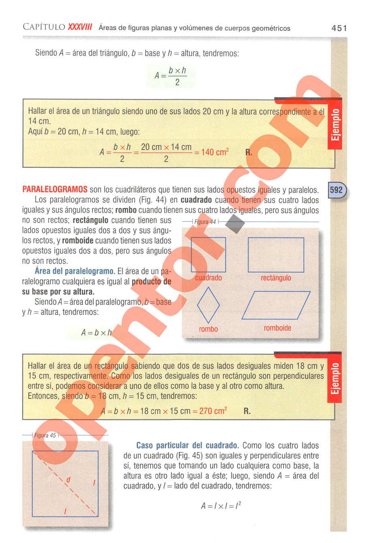 Aritmética de Baldor - Página 451