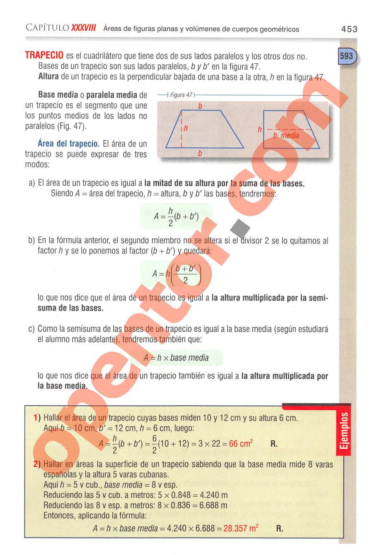 Aritmética de Baldor - Página 453
