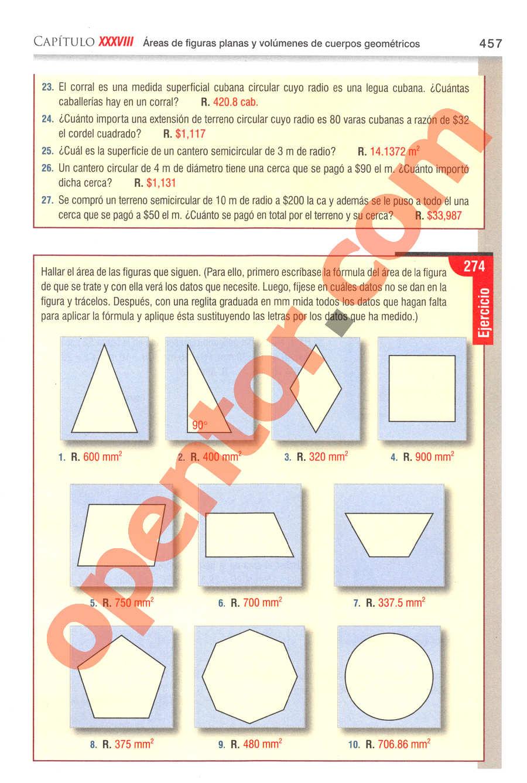 Aritmética de Baldor - Página 457