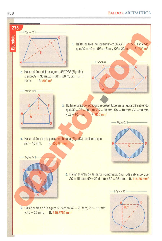 Aritmética de Baldor - Página 458