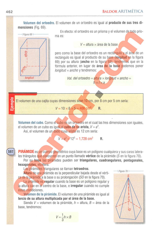Aritmética de Baldor - Página 462