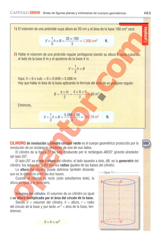 Aritmética de Baldor - Página 463