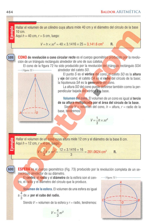Aritmética de Baldor - Página 464