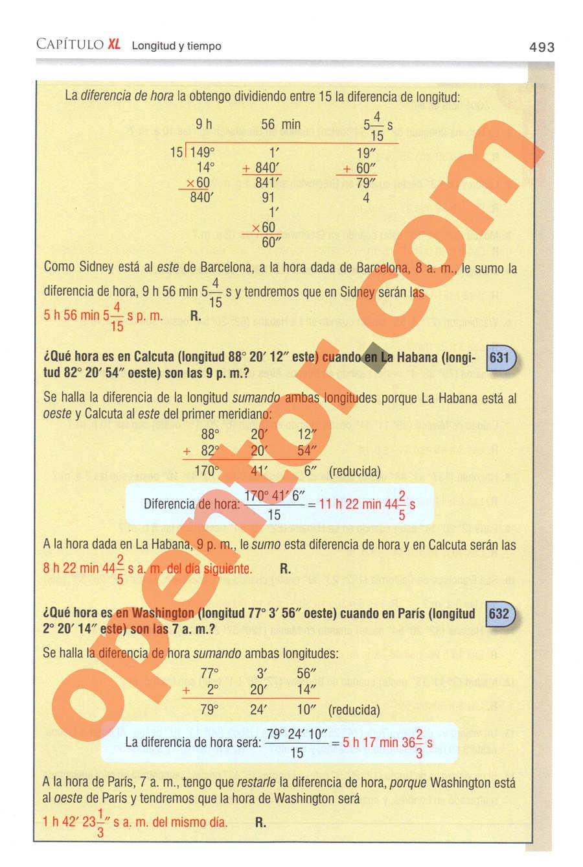 Aritmética de Baldor - Página 493