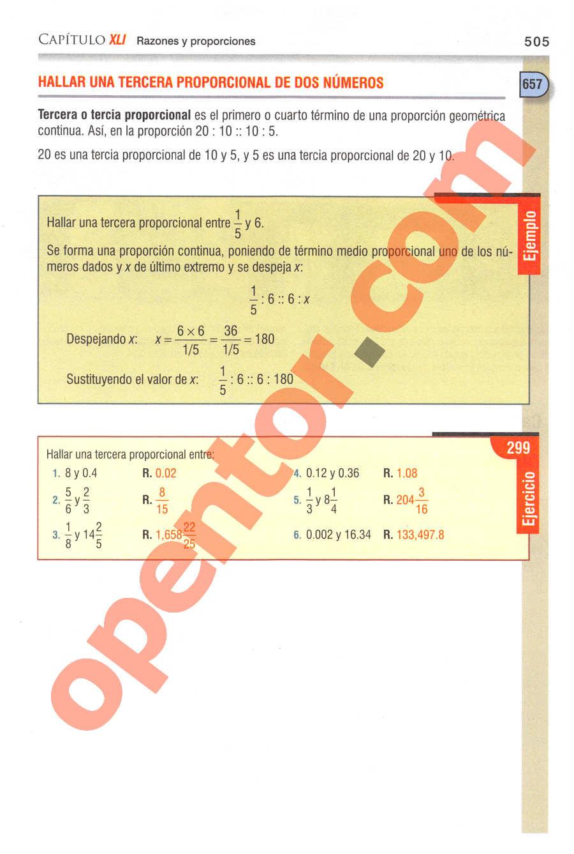 Aritmética de Baldor - Página 505