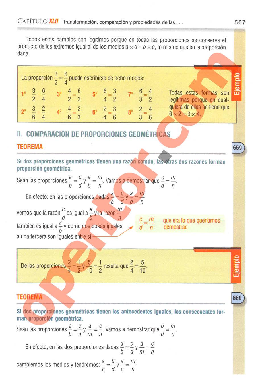 Aritmética de Baldor - Página 507