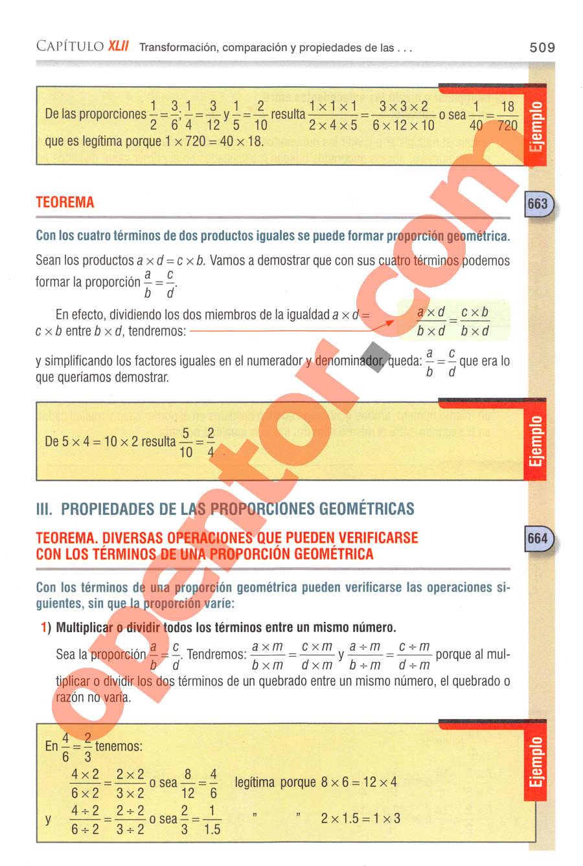 Aritmética de Baldor - Página 509