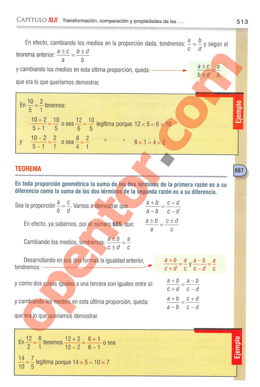Aritmética de Baldor - Página 513