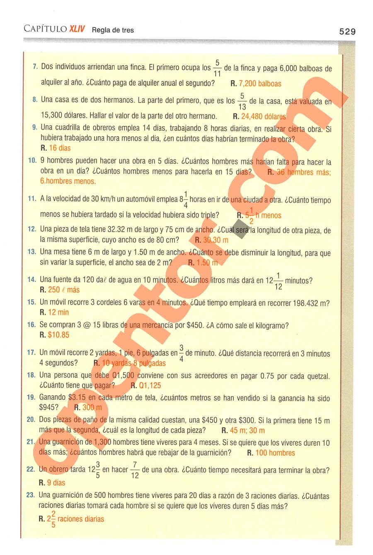 Aritmética de Baldor - Página 529