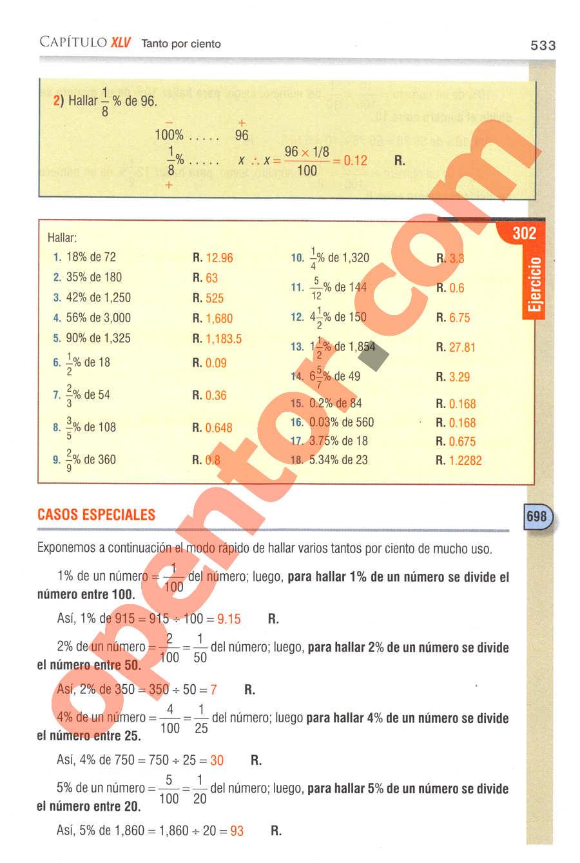 Aritmética de Baldor - Página 533