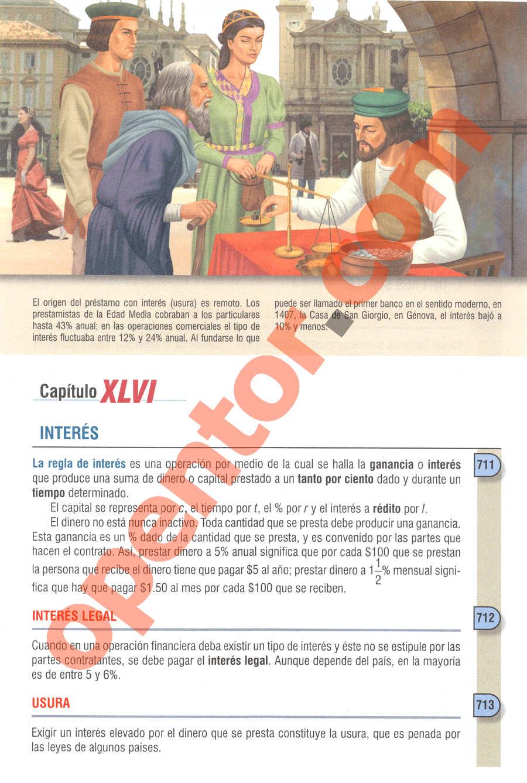 Aritmética de Baldor - Página 549
