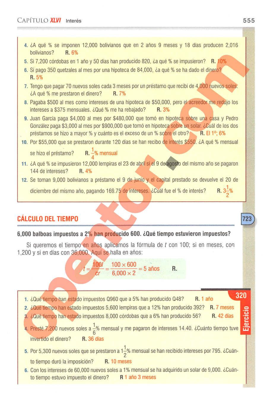 Aritmética de Baldor - Página 555