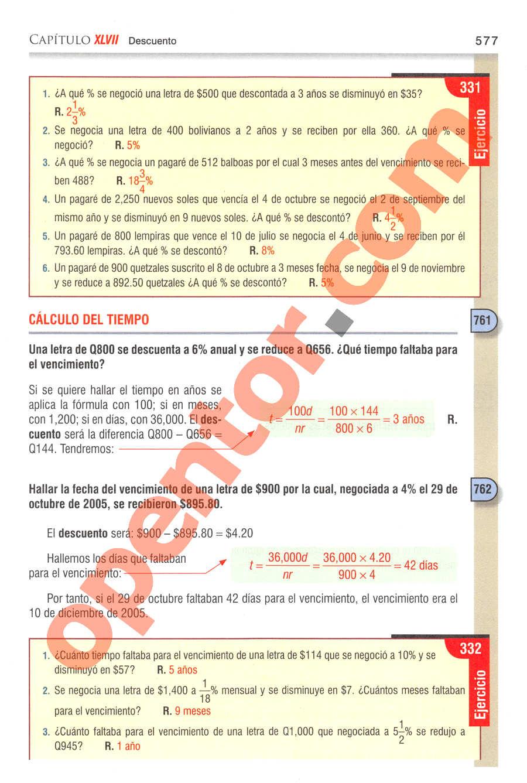 Aritmética de Baldor - Página 577