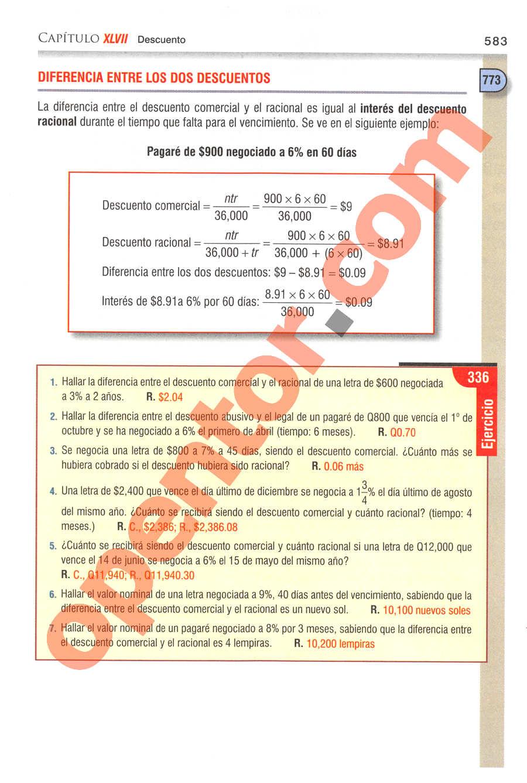 Aritmética de Baldor - Página 583