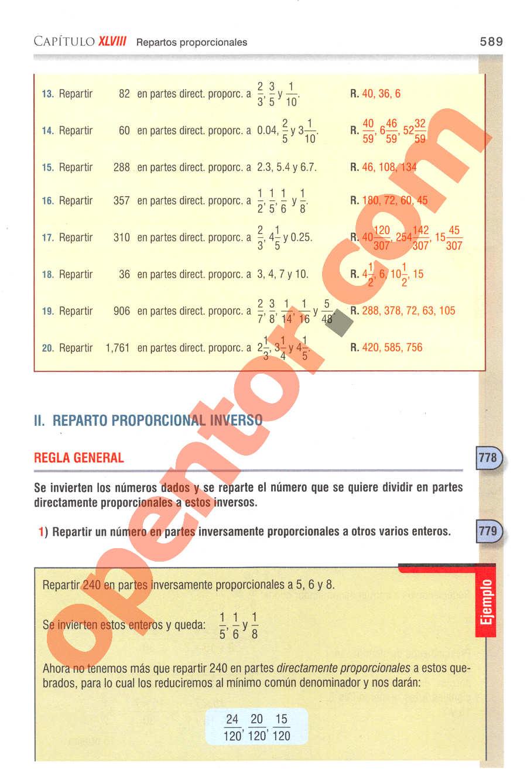 Aritmética de Baldor - Página 589