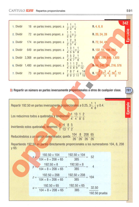 Aritmética de Baldor - Página 591