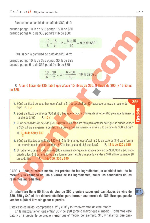 Aritmética de Baldor - Página 617