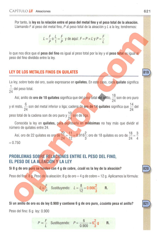 Aritmética de Baldor - Página 621