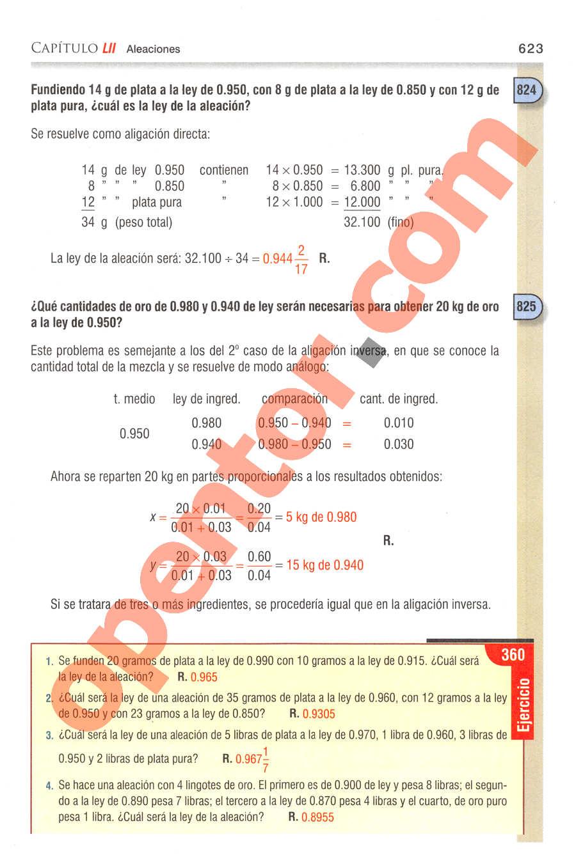 Aritmética de Baldor - Página 623