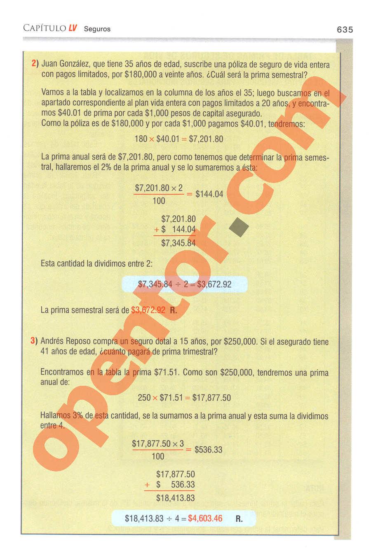 Aritmética de Baldor - Página 635