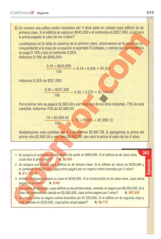 Aritmética de Baldor - Página 639
