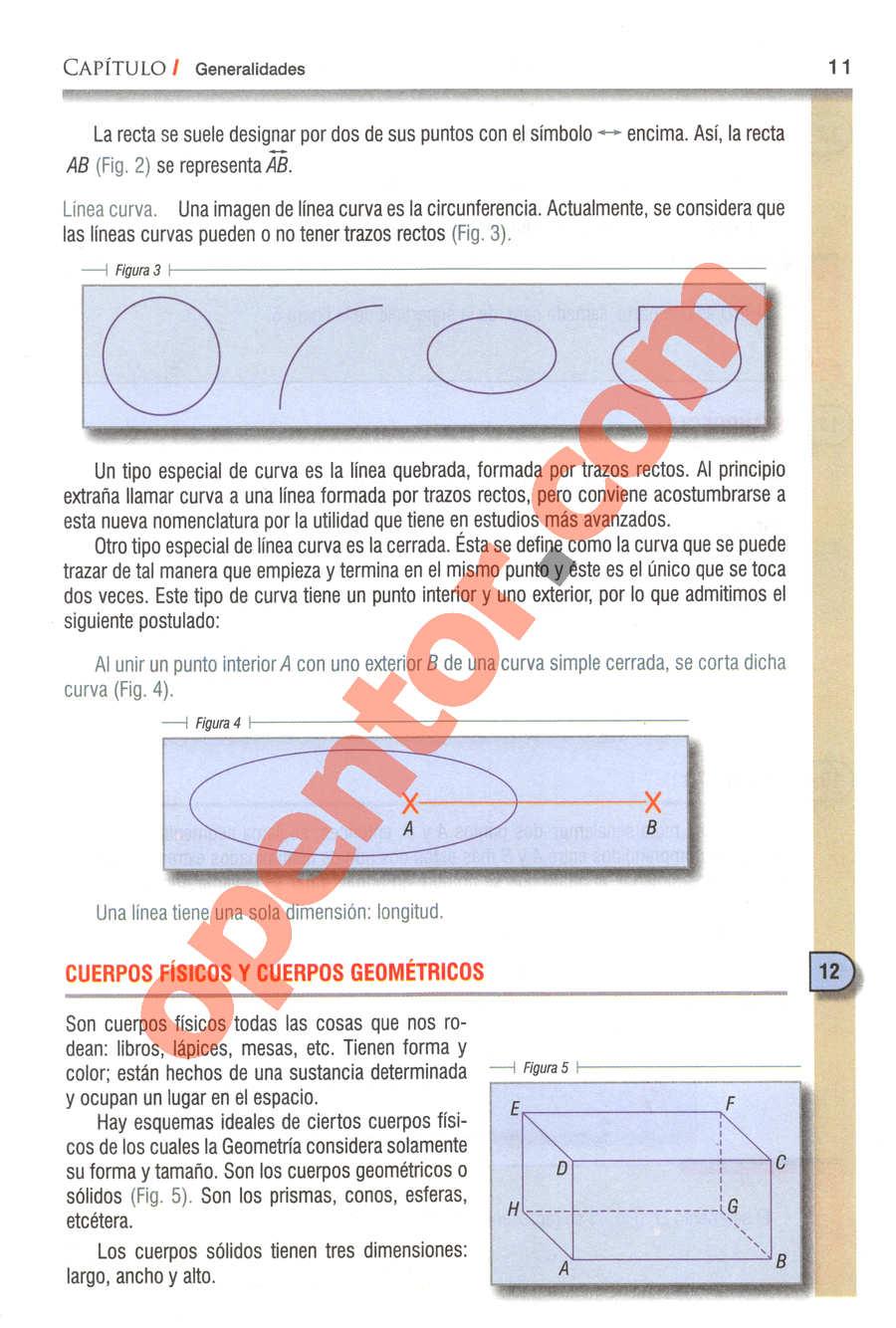 Geometría y Trigonometría de Baldor - Página 11