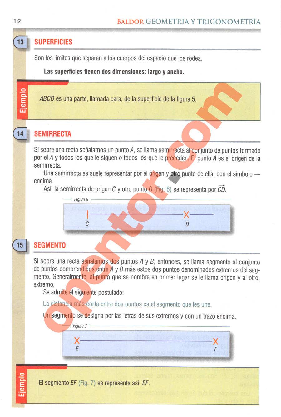 Geometría y Trigonometría de Baldor - Página 12