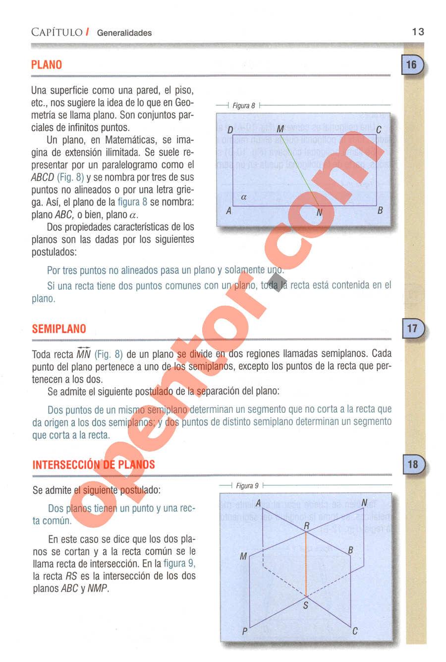 Geometría y Trigonometría de Baldor - Página 13