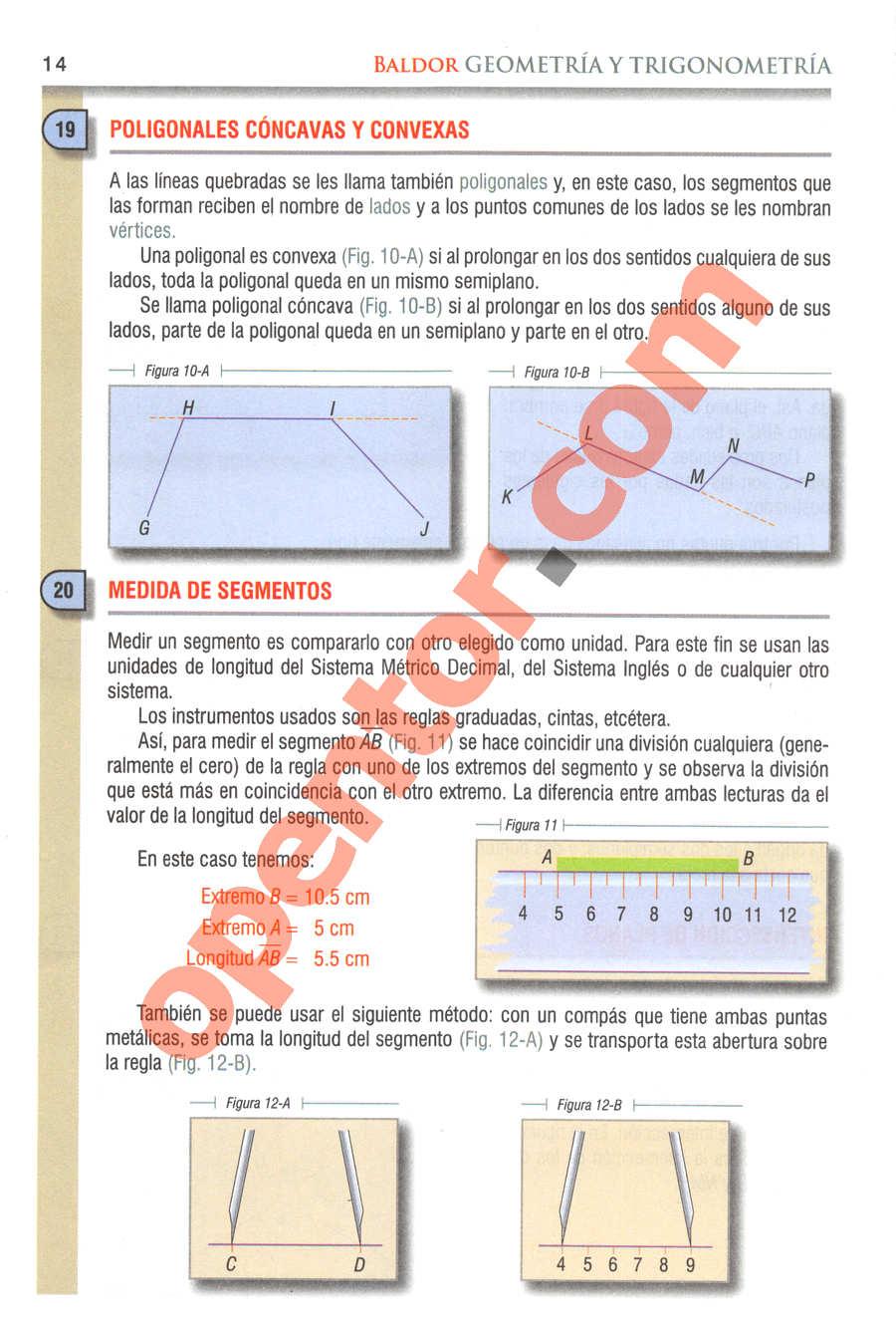 Geometría y Trigonometría de Baldor - Página 14